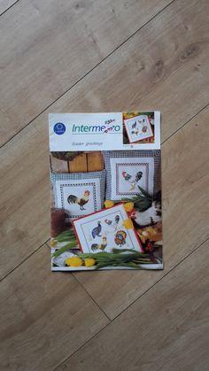 Intermezzo Easter Greeting Cross Stitch Booklet by BeesKneesCraft