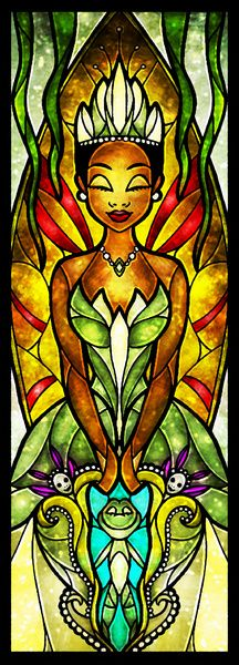 The Dreamer Tiana (Stained Glass), not a tattoo but up there with my favourite disney films. Absolutely beautiful piece, gives me some inspiration for my sleeve :)