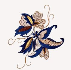 Makincdesigns.com Arabesque. Silk and thread work kit.
