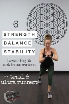 6 Lower Leg Strength, Stability, & Balance Exercises for Trail Runners Source by othfit Fitness Workouts, Running Workouts, Running Training, Running Tips, Marathon Training, Cross Training, Trail Running, Running Blogs, Fitness Memes