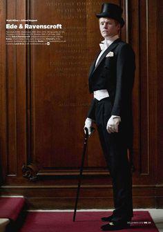 Downton Abbey Men for GQ Magazine | Tom & Lorenzo