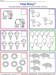 FREE worksheets, create your own worksheets, games. Preschool Homework, Preschool Assessment, Preschool Education, Kids Learning Activities, Homeschool Math, 1st Grade Worksheets, Kindergarten Math Worksheets, Kindergarten Fun, Teaching Math