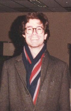 That scarf. That coat. Those dimples. CAN'T EVEN HANDLE IT. | Stephen Colbert Was So Ridiculously Adorable In College