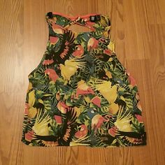 Forever 21 Tropical Sleeveless Top Used only once, like new. Forever 21 Tops