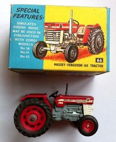 Corgi Toys (Not Britains) Massey Ferguson 165 Farm Tractor 66