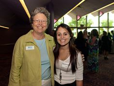 CYD Executive Director Karen Bogues and award presenter, Alexandria Twigg at the Sarasota Community Youth Development Volunteer Celebration in May  2012. The CYD program has been an alliance member of Sister Cities Association of Sarasota since 2004.