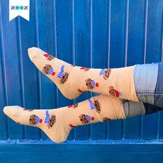 Unos XOOX son un bonito detalle para regalar Socks, Fashion, Bonito, Moda, Fashion Styles, Sock, Stockings, Fashion Illustrations, Ankle Socks
