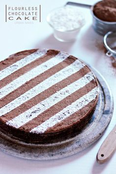 URBAN BAKES - Flourless Chocolate Cake
