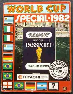 FIFA WORLD CUP SPAIN 1982 - 100% COMPLETE ALBUM Trading Cards !! FKS  | eBay