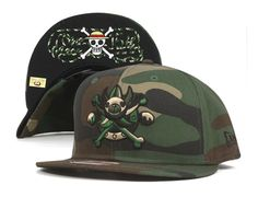 Camo 15th Anniversary 9Fifty Snapback Cap by ONE PIECE x NEW ERA