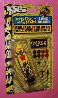 Dregs Long Board Skate Deck - TECH DECK 96mm FINGERBOARDS Pro Skater Pro Skaters, Tech Deck, Skate Decks, Skateboards, Preston, Bmx, Finger, Best Gifts, Awesome