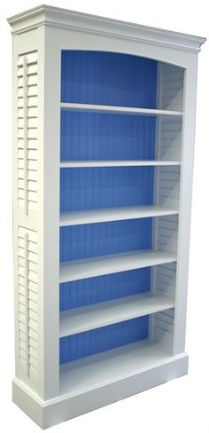 @Rosenberry Rooms is offering $20 OFF your purchase! Share the news and save!  Plantation Shutter Bookcase #rosenberryrooms