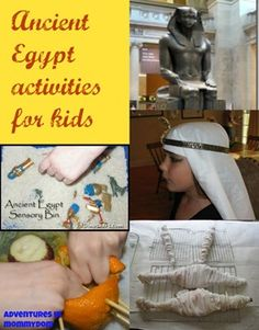 Ancient Egypt activities for kids - Adventures in Mommydom