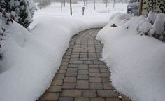 Driveway Snow melting Systems - Electric Walkway Snow Melting - Heated Driveway…