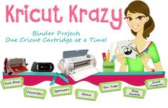 lots of cricut ideas.  http://www.kricutkrazy.com/2013/09/kricut-krazy-is-back.html