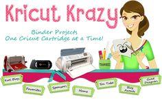lots of cricut ideas.  http://www.kricutkrazy.com/2013/09/kricut-krazy-is-back.html