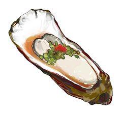 IsuZu Cute Food, Yummy Food, Food Sketch, Food Cartoon, Watercolor Food, Food Painting, Food Drawing, Food Illustrations, Korean Food