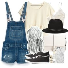 Allison Inspired Outfit by veterization on Polyvore featuring moda, Madewell, Zara, Aerie, H&M, Forever 21, rag & bone, Uncommon and Korres