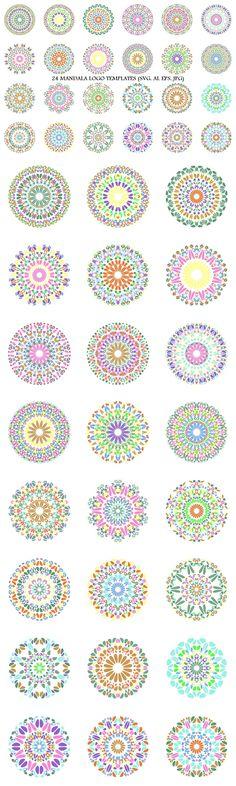 24 Floral Mandala Logo Templates #logotemplates #LogoDesign #mandalaart #MandalaArtwork #logos #mandala #AbstractLogoTemplates #MandalaDesignElement #happy #logo #LogoDesignTemplate #mandala #MandalaLogoTemplate #SacredGeometry #collection #mandalalogos #AbstractLogoDesign Mandala Design, Mandala Art, Best Logo Design, Graphic Design, Attractive Wallpapers, Clothing Logo Design, Abstract Logo, Logo Background, Pattern And Decoration