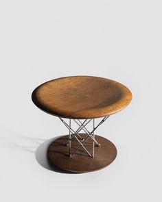 Isamu Noguchi | Rocking stool model 85T for Knoll 1955. @wrightauction .