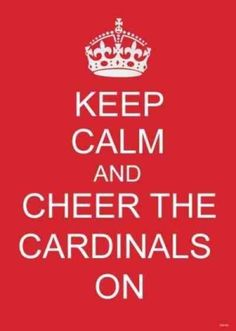St. Louis Cardinals going to the series baby!