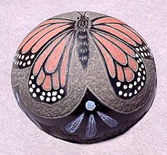 American Indian Sgraffito | ... lace-like trim on a miniature sgraffito black pot with colored slips