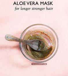 DIY+ALOE+VERA+MASK+FOR+LONGER+STRONGER+HAIR