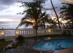 Rincon PR - Casa Por Fin Tres Palmas On the beach with a pool!!! Great location on Tres Palmas beach with a view of Desecheo Island, and spectacular sunsets. Great snorkeling area where you can watch turtles and a wide variety of fish very close to shore. For more information on Rincon PR visit www.surfrinconpr.com