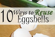 10 Ways on How to Reuse Your Eggshells