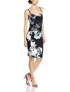 8, Multicoloured, Lipsy Women's Lace Cami Sleeveless Dress NEW