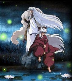 Sesshomaru and Inuyasha