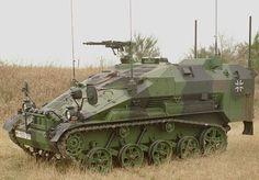 German Wiesel III Armored Vehicle