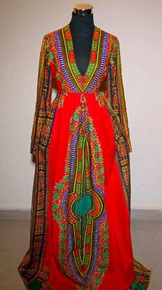 Check out this item in my Etsy shop https://www.etsy.com/uk/listing/250957062/dashiki-gown-dress