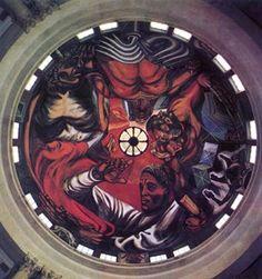 """PRODUCTO: """"Hombre creativo', por el muralista mexicano José Clemente Orozco."""