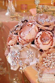 Luxurious Wedding Accessories — Centerpiece Collection Blush##