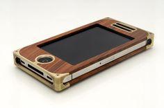 EXOvault | Handmade Metal iPhone Cases | Handcrafted Aluminum - Brass - Titanium - Exotic Hardwoods