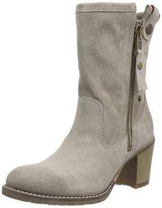 Tamaris 25024, Damen Kurzschaft Stiefel, Grau (Stone 231), 36 EU (3.5 Damen UK) - http://on-line-kaufen.de/tamaris/36-eu-tamaris-25024-damen-kurzschaft-stiefel-3