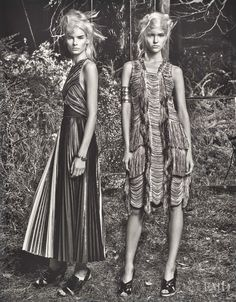 Field Day in W with Sasha Luss,Irene Hiemstra - Fashion Editorial | Magazines | The FMD #lovefmd
