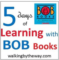 Bob books printables!