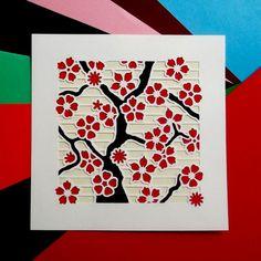 Árbol de flor de cerezo un kit para hacer una por CraftyVectors