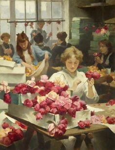"""Samuel Melton Fisher """"Flower makers"""""""