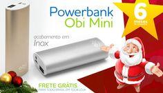 Acabe com o medo de ficar sem bateria! Conheça nossa grande variedade de carregadores power bank e visite nosso site.