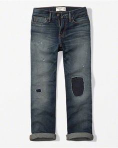 kids ripped classic jeans