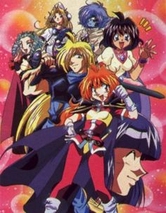 Slayers my favorite anime of all time.