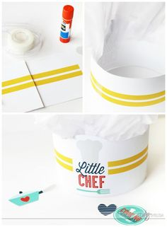 Printable chef's hat for kids- for cooking up some fun together in the kitchen!