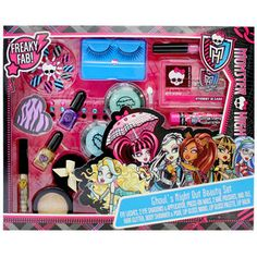 Monster High Ghouls Night Out Beauty Set