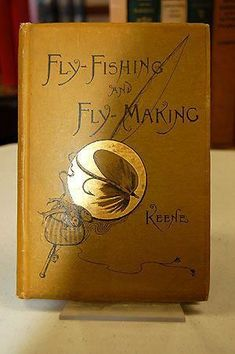 Fishing can be a great stress reliever. Find out more about fishing as a stress relieve, including tips on catching fish and staying safe. Fly Fishing Books, Fly Fishing Gear, Trout Fishing, Fishing Tackle, Fishing Lures, Fishing Stuff, Vintage Book Covers, Vintage Books, Fishing Accessories
