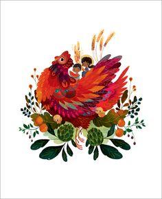 Red Hen, Lorena  Alvarez Gómez http://www.gallerynucleus.com/detail/16762