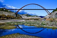 La Vicaría Bridge over Segura River, Yeste, Spain