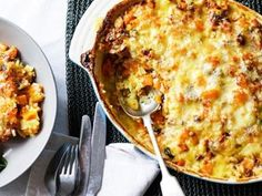 A creamy vegetable and rice bake. This is a great way to use up vegies before they go off.